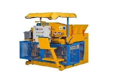 Máquinas para Fabrico de Blocos