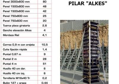 Equipamentos de Cofragem Pilar Alkes