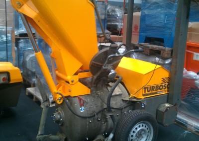 Máquina de betonilhas Turbosol -recondicionada