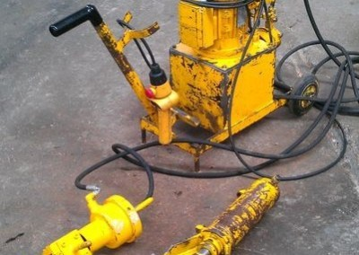 Máquinas industriais usadas