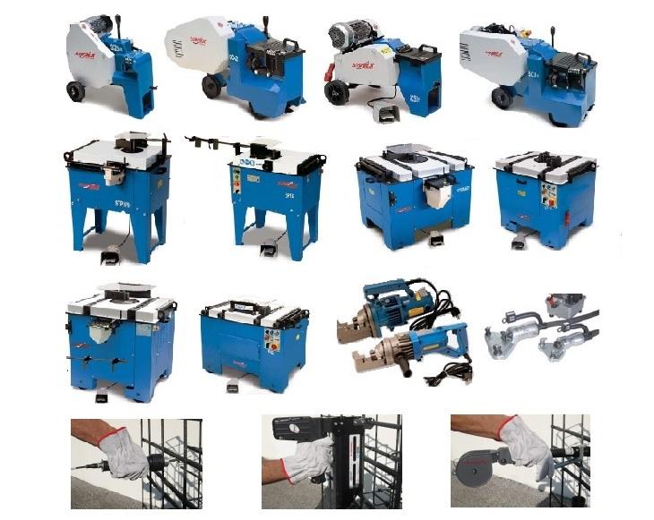 Maquinas trabalhar Ferro